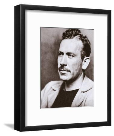 John Steinbeck, American novelist, c1939-Unknown-Framed Photographic Print
