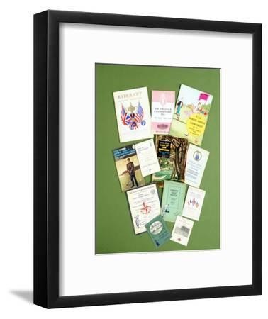 Various golfing programmes, 20th century-Unknown-Framed Giclee Print