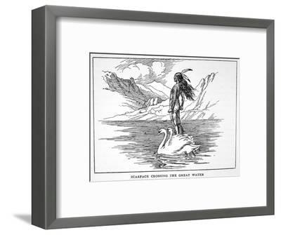 'Scarface Crossing the Great Water', 1925-Unknown-Framed Giclee Print