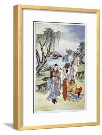 'Sun Steals Clothing for his Master', 1922-Unknown-Framed Giclee Print