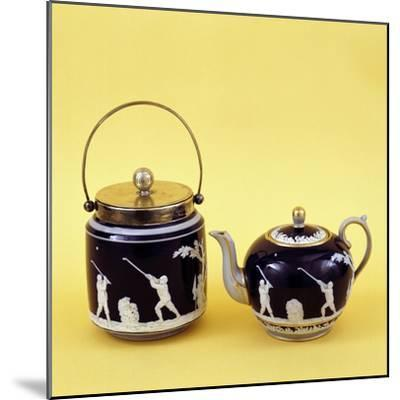 Copeland Spode golf-themed ceramics, c1905-Unknown-Mounted Giclee Print