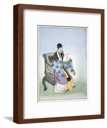Mencius, ancient Chinese philosopher, 1922-Unknown-Framed Giclee Print