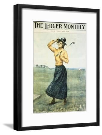 Cover of The Ledger Monthly, American, 1899-Unknown-Framed Giclee Print