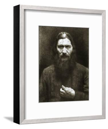Rasputin, Russian mystic, early 20th century-Unknown-Framed Photographic Print