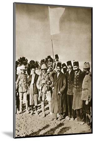 The surrender of Jerusalem, World War I, 1917-Unknown-Mounted Photographic Print