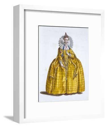 Elizabeth I, Queen of England, (19th century)-Unknown-Framed Giclee Print