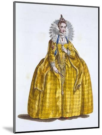 Elizabeth I, Queen of England, (19th century)-Unknown-Mounted Giclee Print