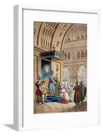 'The creating of a Knight Templar', c1820-1830-Unknown-Framed Giclee Print