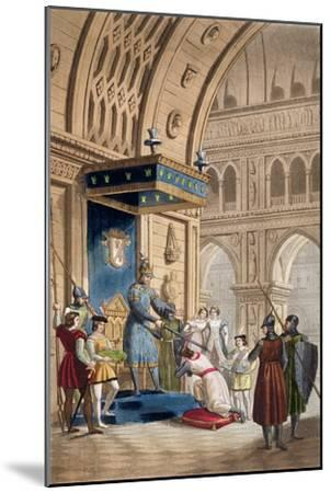 'The creating of a Knight Templar', c1820-1830-Unknown-Mounted Giclee Print