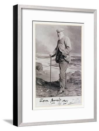 Signed photograph of Tom Morris, British, 1901-Unknown-Framed Giclee Print