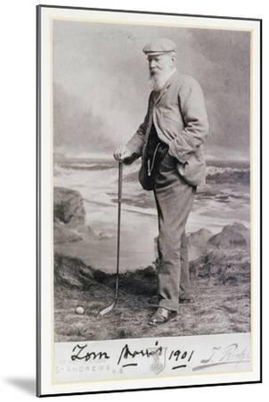 Signed photograph of Tom Morris, British, 1901-Unknown-Mounted Giclee Print