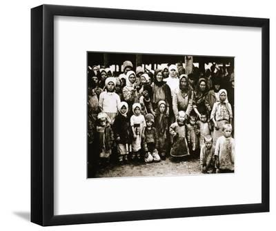 Famine in the Volga Valley, Russia, c1921-c1922-Unknown-Framed Photographic Print