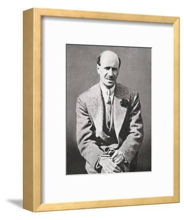 Clarence Hatry, failed British financier, 1929-Unknown-Framed Photographic Print