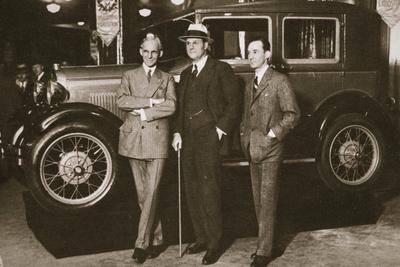 'Enter the new Ford', New York City, USA, 1927-Unknown-Framed Photographic Print