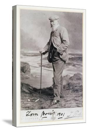 Signed photograph of Tom Morris, British, 1901-Unknown-Stretched Canvas Print