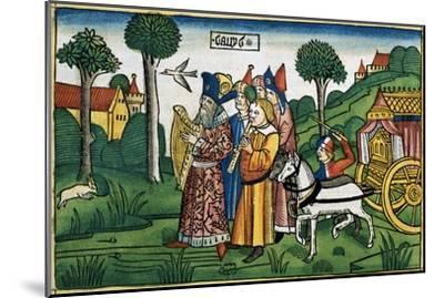 2 Samuel 6:1-5: David brings the Ark to Jerusalem-Unknown-Mounted Giclee Print