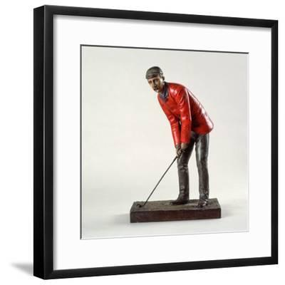 Polydrone bronze figure of John E Laidley, c1880-Unknown-Framed Giclee Print