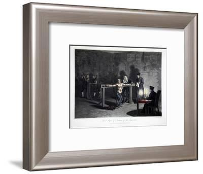 Third Degree of Torture of the Inquisition', 1813-LC Stadler-Framed Giclee Print