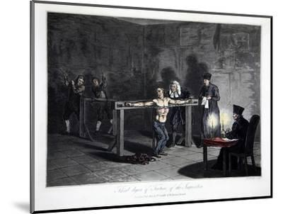 Third Degree of Torture of the Inquisition', 1813-LC Stadler-Mounted Giclee Print