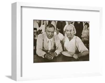 'The Protagonists of Dayton', Tennessee, USA, 1925-Unknown-Framed Photographic Print