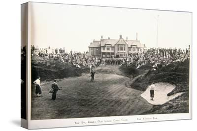 The St Annes Old Links golf club. The famous ninth-Unknown-Stretched Canvas Print
