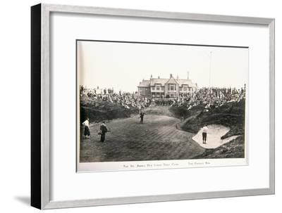 The St Annes Old Links golf club. The famous ninth-Unknown-Framed Giclee Print