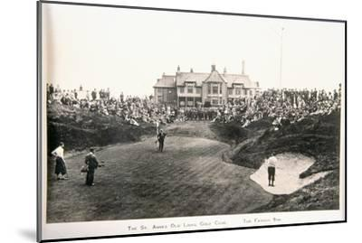 The St Annes Old Links golf club. The famous ninth-Unknown-Mounted Giclee Print