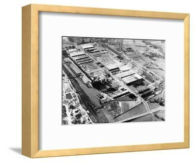 The Volkswagen factory at Wolfsburg, Germany, 1960s-Unknown-Framed Photographic Print