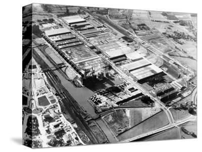 The Volkswagen factory at Wolfsburg, Germany, 1960s-Unknown-Stretched Canvas Print