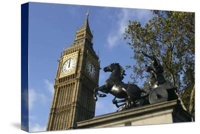 Big Ben stopped, Palace of Westminster, London, 2005-Unknown-Stretched Canvas Print