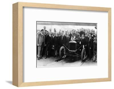 250,000th Model T Ford produced at Manchester, 1925-Unknown-Framed Photographic Print