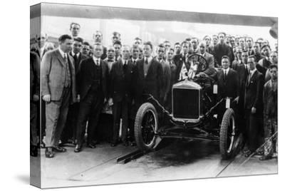 250,000th Model T Ford produced at Manchester, 1925-Unknown-Stretched Canvas Print