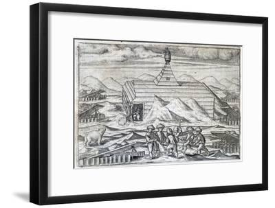 William Barents' Arctic expedition, 1596-1597 (1598)-Unknown-Framed Giclee Print