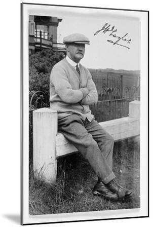 JH Taylor (1871-1963), five times Open champion, c1940-Unknown-Mounted Giclee Print