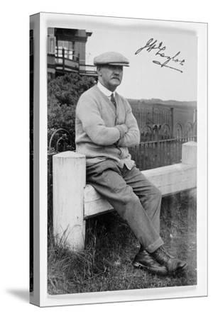 JH Taylor (1871-1963), five times Open champion, c1940-Unknown-Stretched Canvas Print