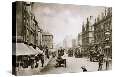 A crossing in Oxford Street, London, early 20th century-Unknown-Stretched Canvas Print