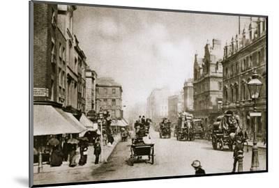 A crossing in Oxford Street, London, early 20th century-Unknown-Mounted Photographic Print