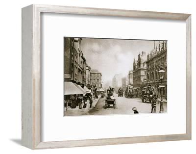 A crossing in Oxford Street, London, early 20th century-Unknown-Framed Photographic Print