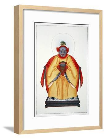 'Confucius the Great Unapotheosized God of China', 1922-Unknown-Framed Giclee Print