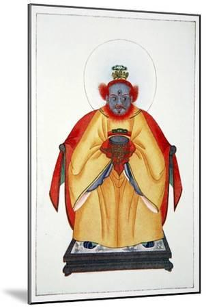 'Confucius the Great Unapotheosized God of China', 1922-Unknown-Mounted Giclee Print