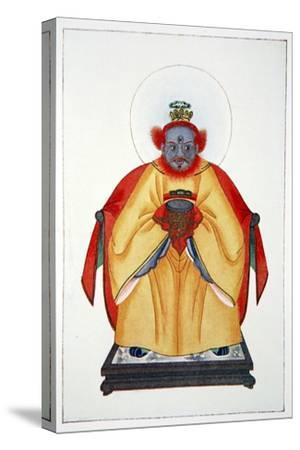 'Confucius the Great Unapotheosized God of China', 1922-Unknown-Stretched Canvas Print
