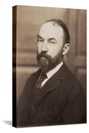 Thomas Hardy, English novelist and poet, late 19th century-Unknown-Stretched Canvas Print
