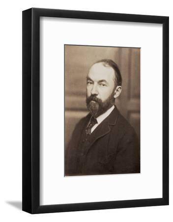 Thomas Hardy, English novelist and poet, late 19th century-Unknown-Framed Photographic Print