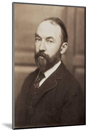 Thomas Hardy, English novelist and poet, late 19th century-Unknown-Mounted Photographic Print