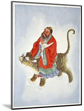Zhang Daoling, Chinese Taoist hermit and philosopher, 1922-Unknown-Mounted Giclee Print