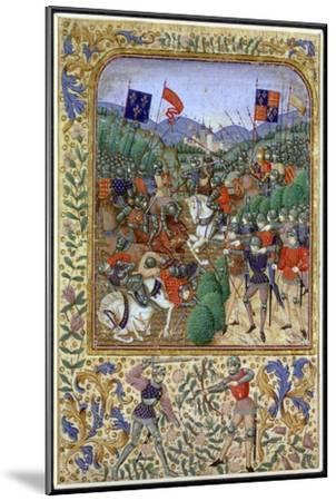 Battle of Agincourt, France, 25 October 1415, (19th century)-Unknown-Mounted Giclee Print