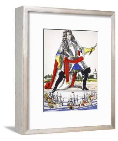 James II, King of Great Britain and Ireland from 1685, (1932)-Rosalind Thornycroft-Framed Giclee Print