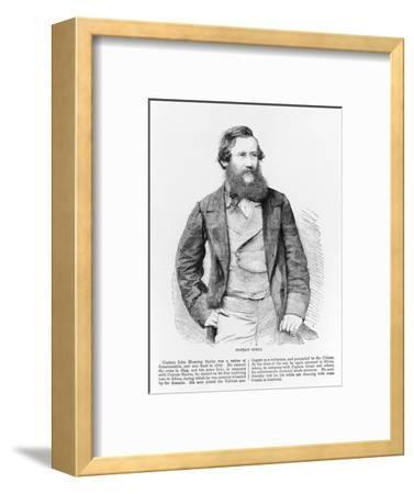 Portrait of John Hanning Speke, British explorer, 19th century-Unknown-Framed Giclee Print