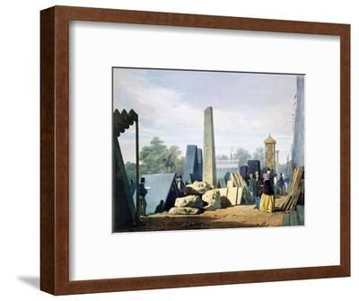 The exterior, Great Exhibition, Hyde Park, London, 1851 (1854)-Unknown-Framed Giclee Print