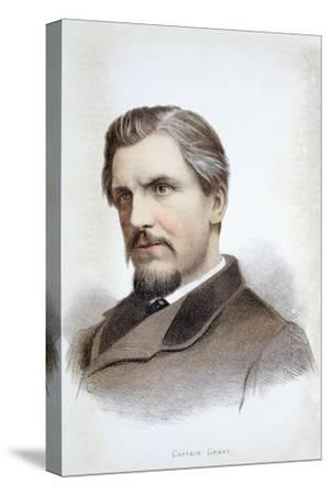 Captain James Augustus Grant, Scottish explorer, 19th century-Unknown-Stretched Canvas Print